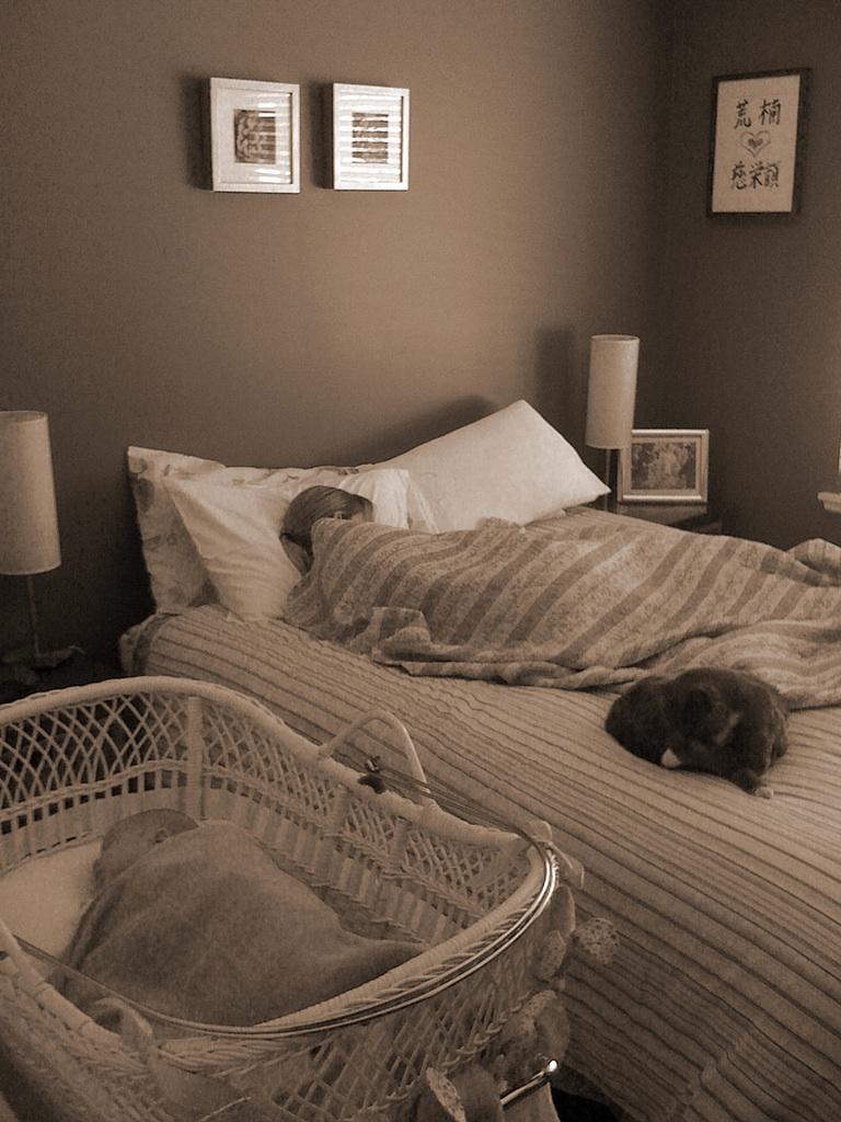 where will your newborn baby sleep