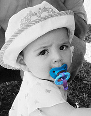 some babies love their pacifiers