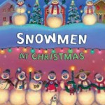 Snowmen at Christmas holiday book